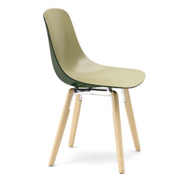 Silla - Pure Loop Binuance - Wooden Legs