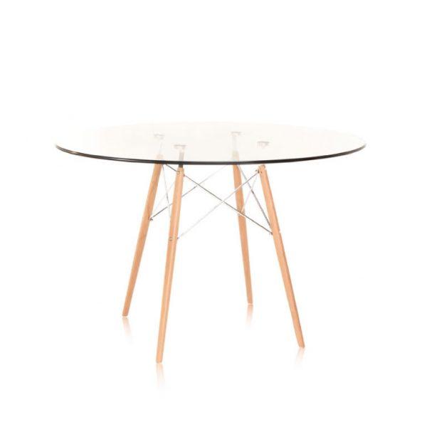 Mesa de Comedor - Cristal