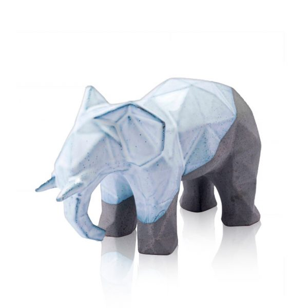 Figura Decorativa - Geo Elephant